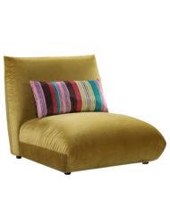 Basso Single module of green bubble sofa designer sofa