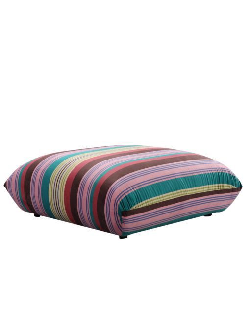 Basso colorful striped ottoman designer bubble sofa module