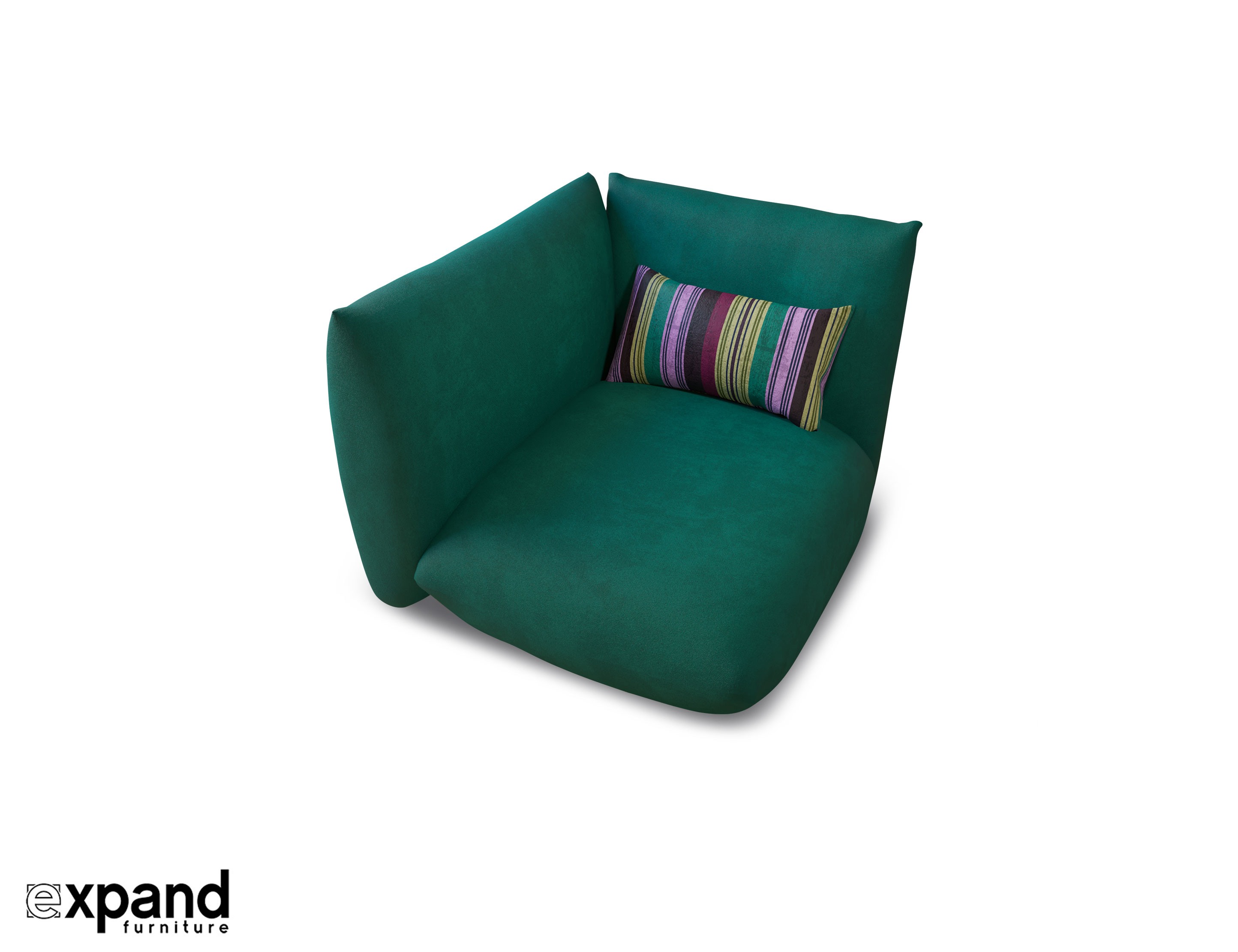 Basso Modular: Corner Sofa Low Profile design