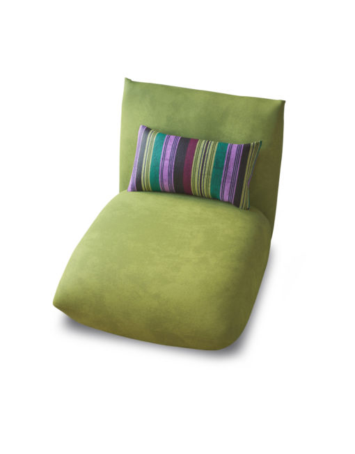 Basso-single-apple-green-modular-sofa-portion