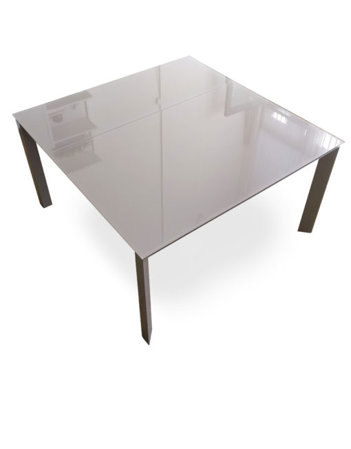 The Frame Rectangle To Square Extendable Table
