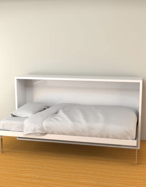 Hover-Twin-horizontal-wall-bed-for-apartments-open-as-a-comfy-bed