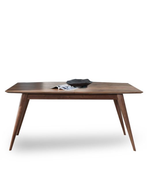 Hygge Extendable Wood Table With Wood Legs