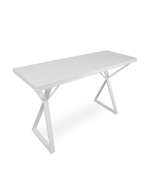 Excellent Mondrian White Gloss Convertible Desk Table Ncnpc Chair Design For Home Ncnpcorg