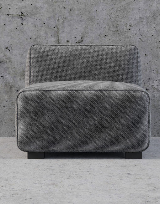 Soft Cube Single Seat Sofa Module
