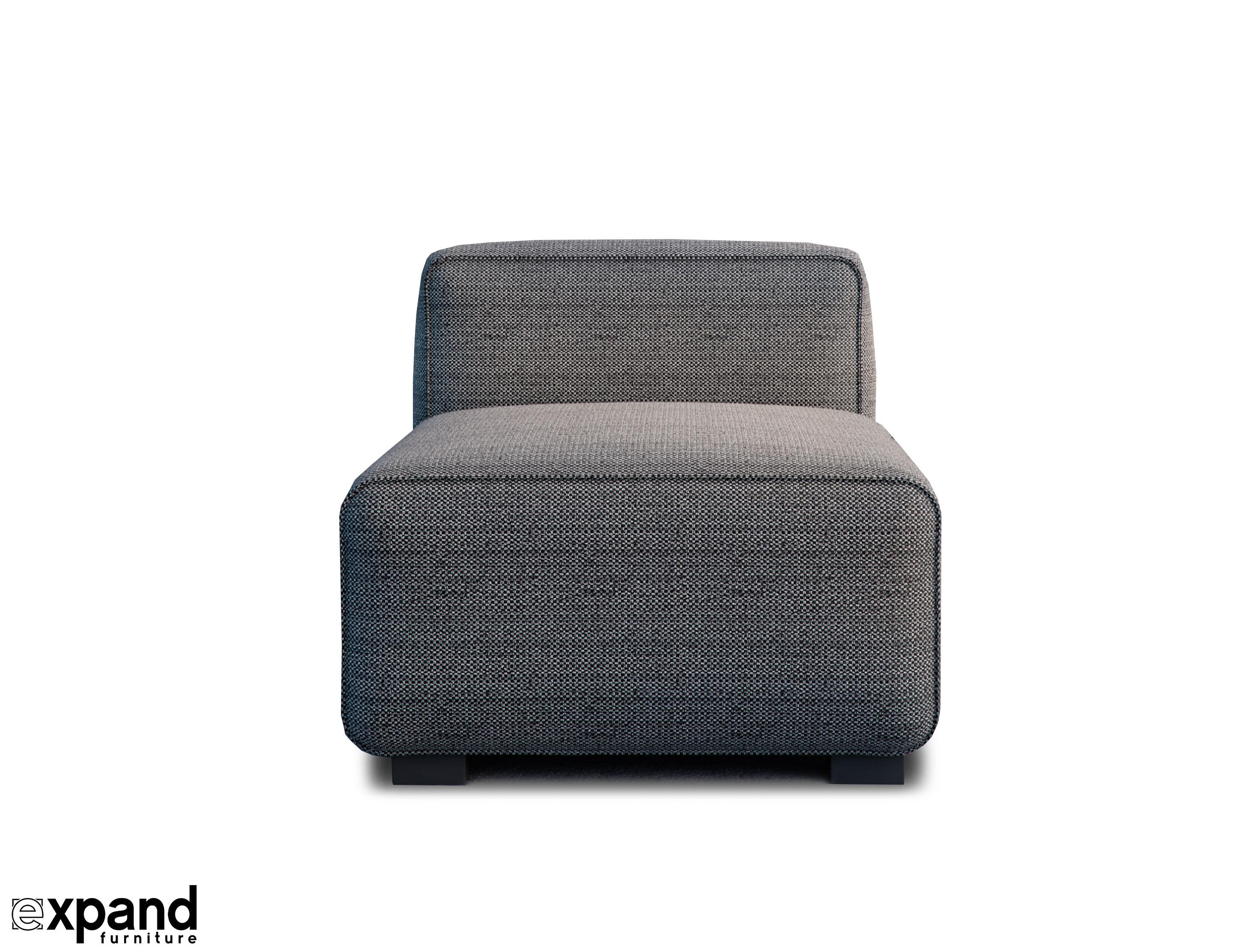 Soft Cube Sofa Single Seat Module Expand Furniture