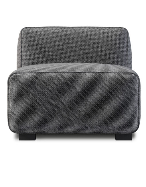 Soft Cube Comfy Single Seat Sofa Module