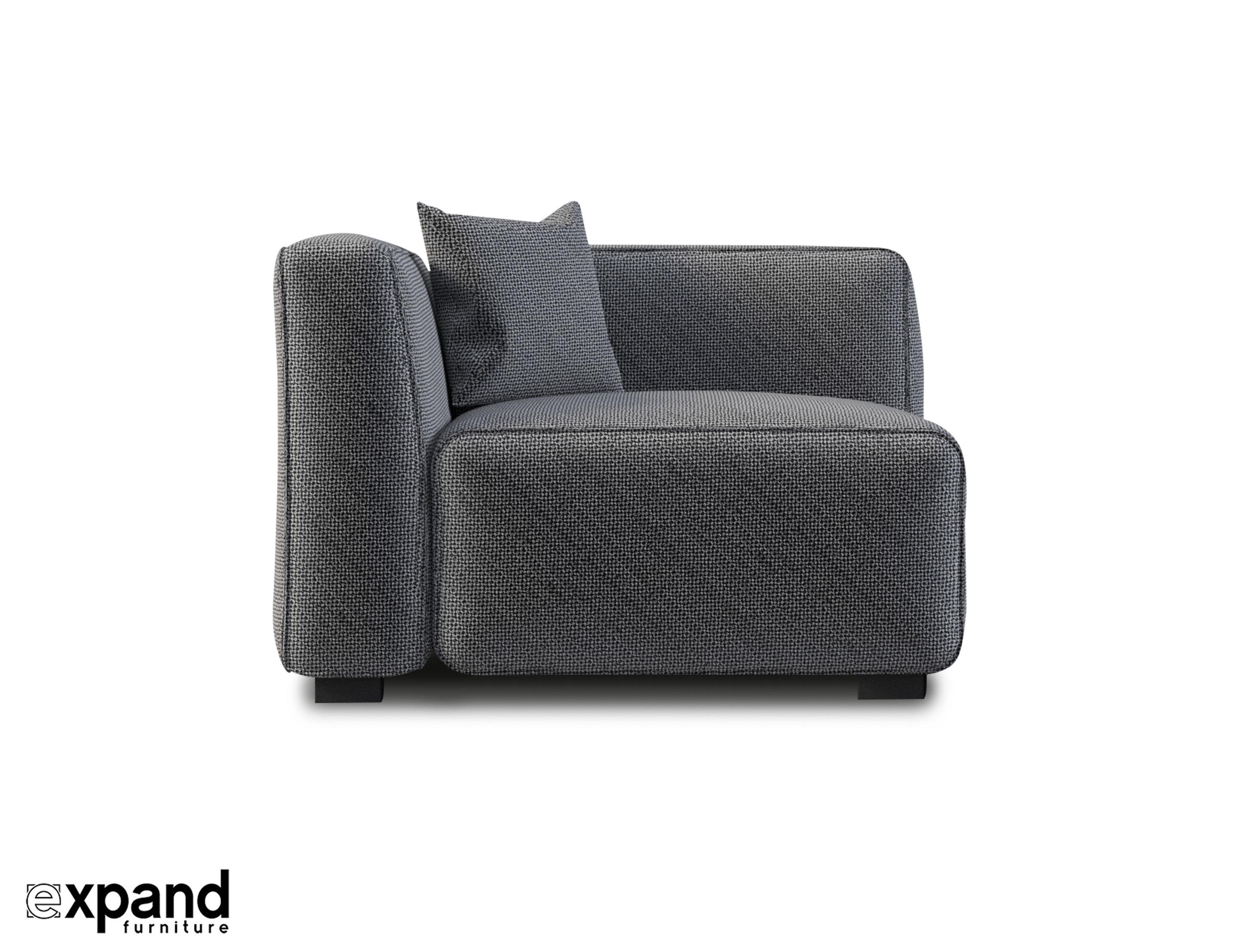 Soft Cube: Modern Modular Corner Seat Module