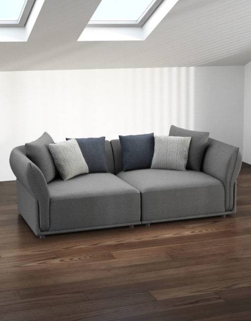 Stratus-2-seat-modular-couch-in-grey