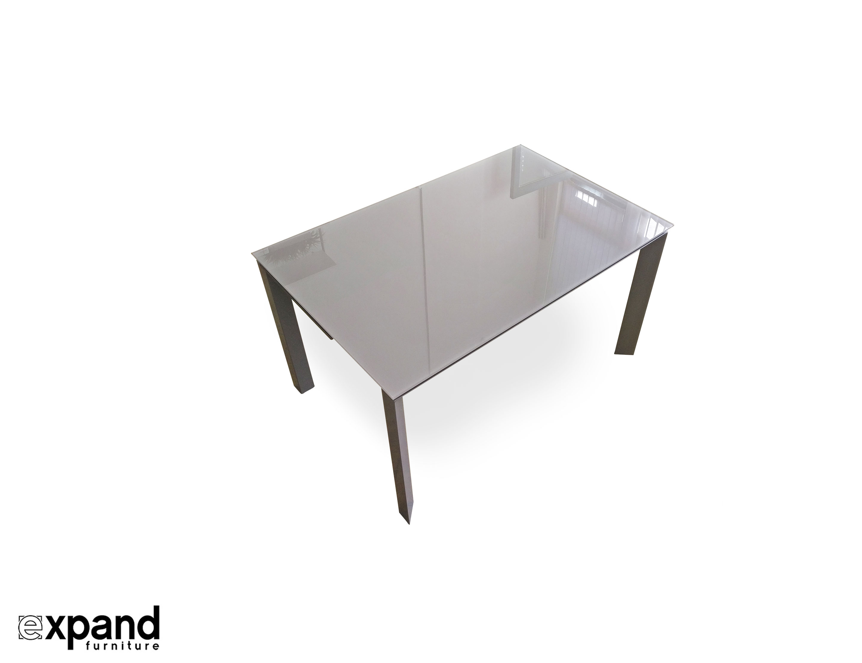 The Frame: Rectangle To Square Extendable Table