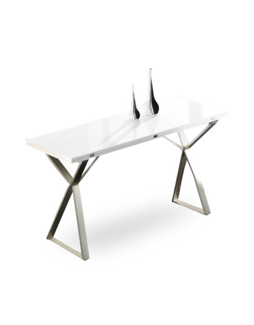White Desk Table Part - 41: The-Mondrian-in-desk-console-form-before-converting-