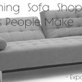 shopping for a sofa bed