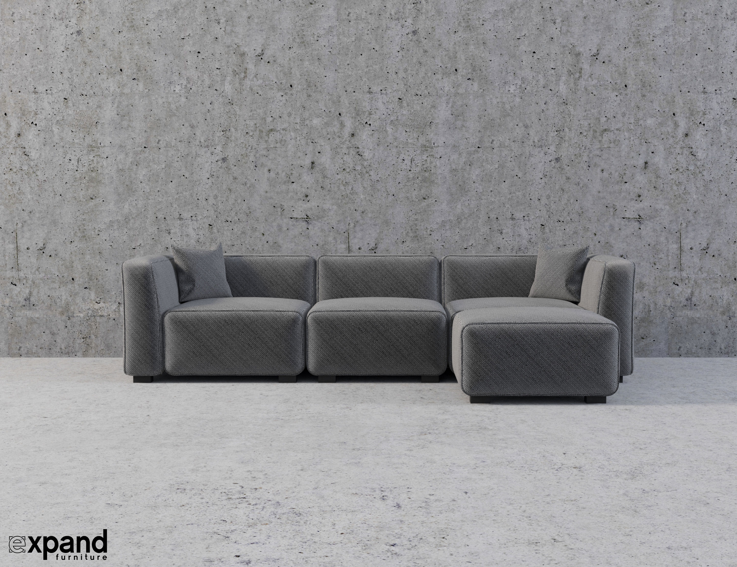 Soft-Cube: Modern Modular Sofa Set | Expand Furniture - Folding ...