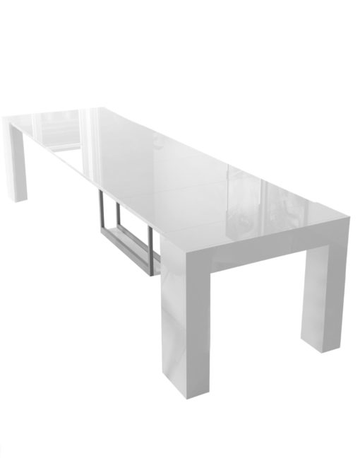 12-seat-Cubist-Table-with-built-in-Extension-Storage-in-glossy-white-finish