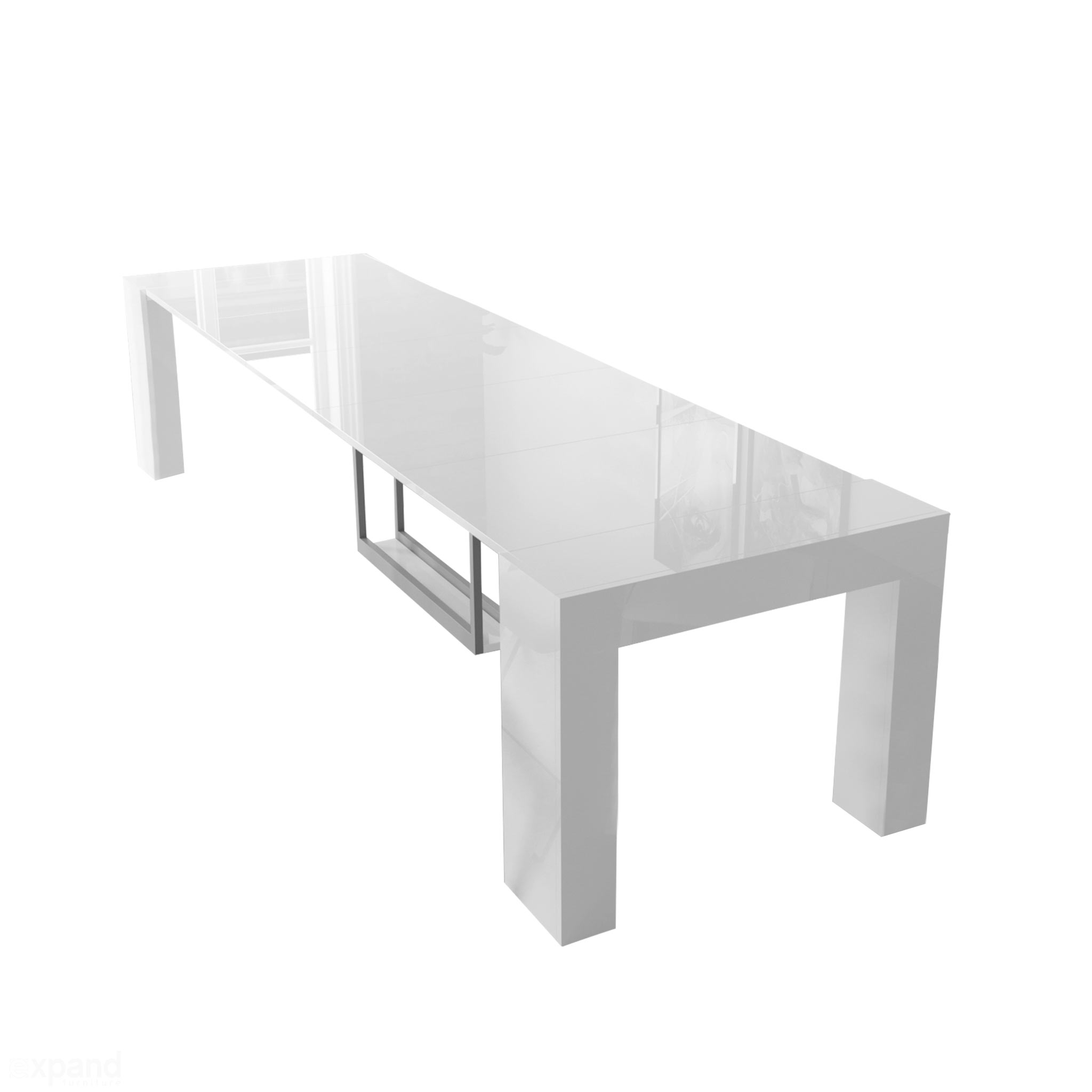Astonishing Cubist Table With Built In Extension Storage Bralicious Painted Fabric Chair Ideas Braliciousco