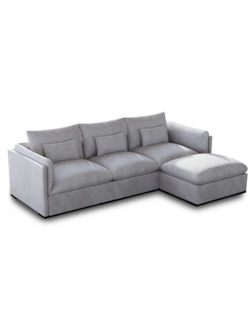 Fine Adagio Luxury Sectional Modular Sofa Set Of 4 Alphanode Cool Chair Designs And Ideas Alphanodeonline