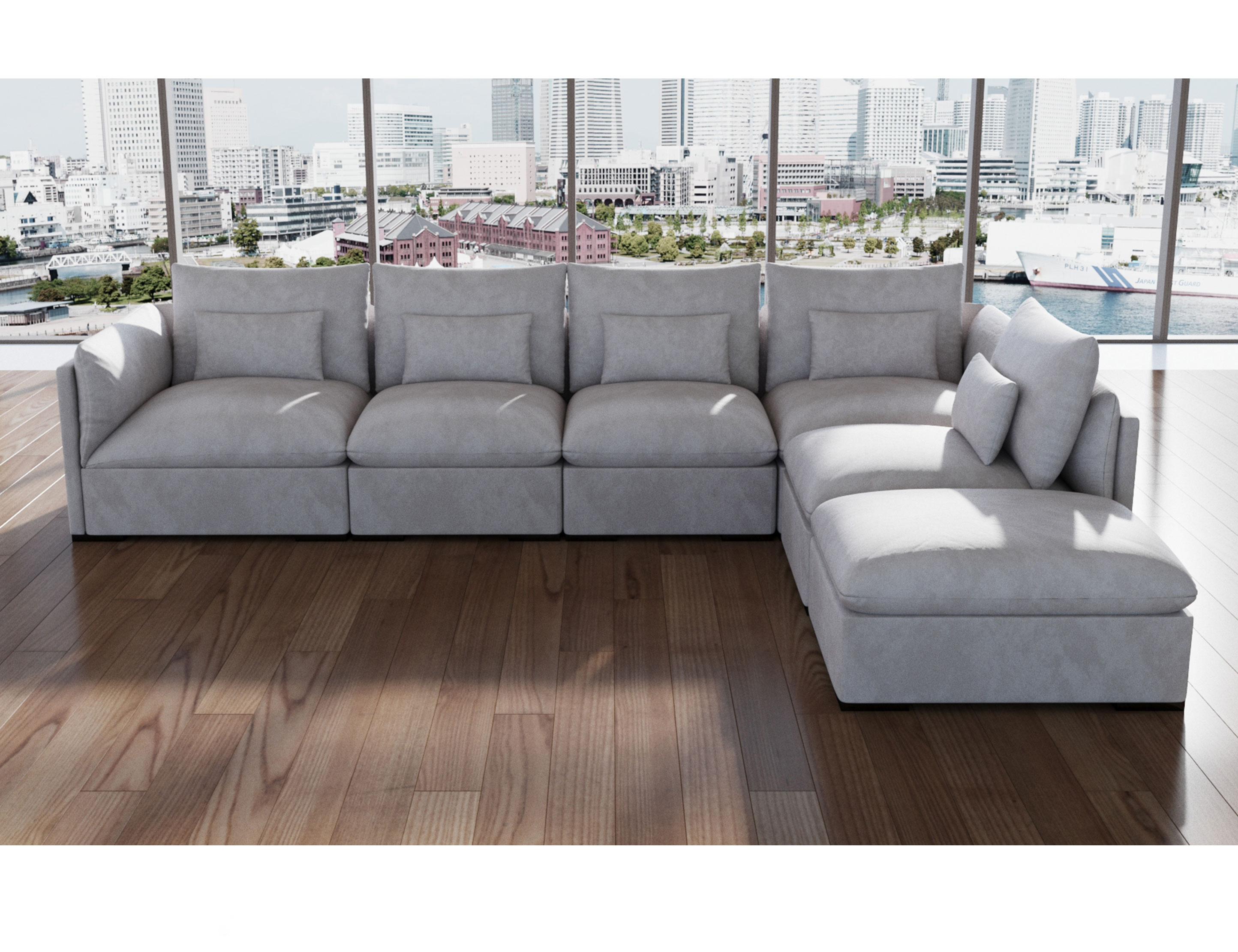 Adagio Luxury Sectional Modular Sofa