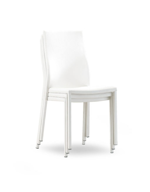 Bella-chairs-stacked-4-white-pu-leather