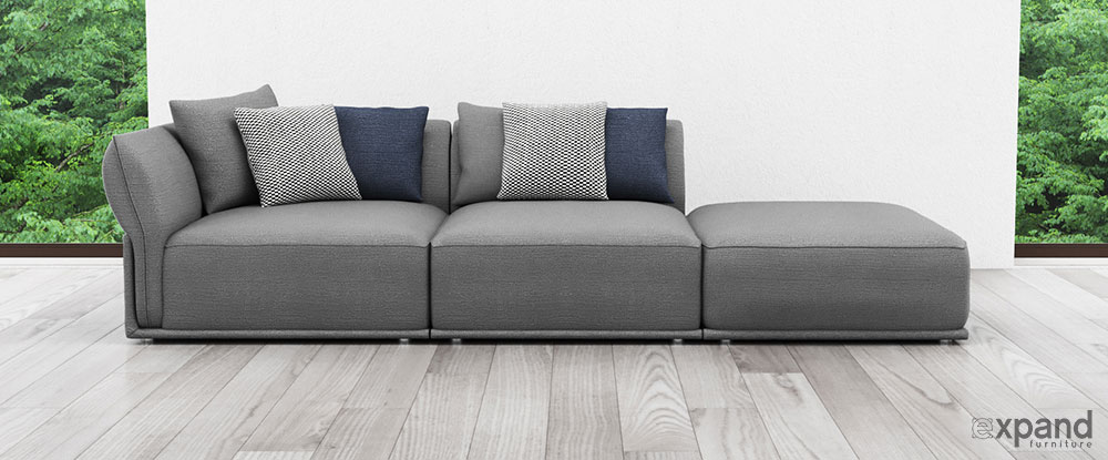 Comfortable Contemporary Sofas Built With Modular Design