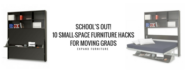 10 small space furniture hacks for moving grads