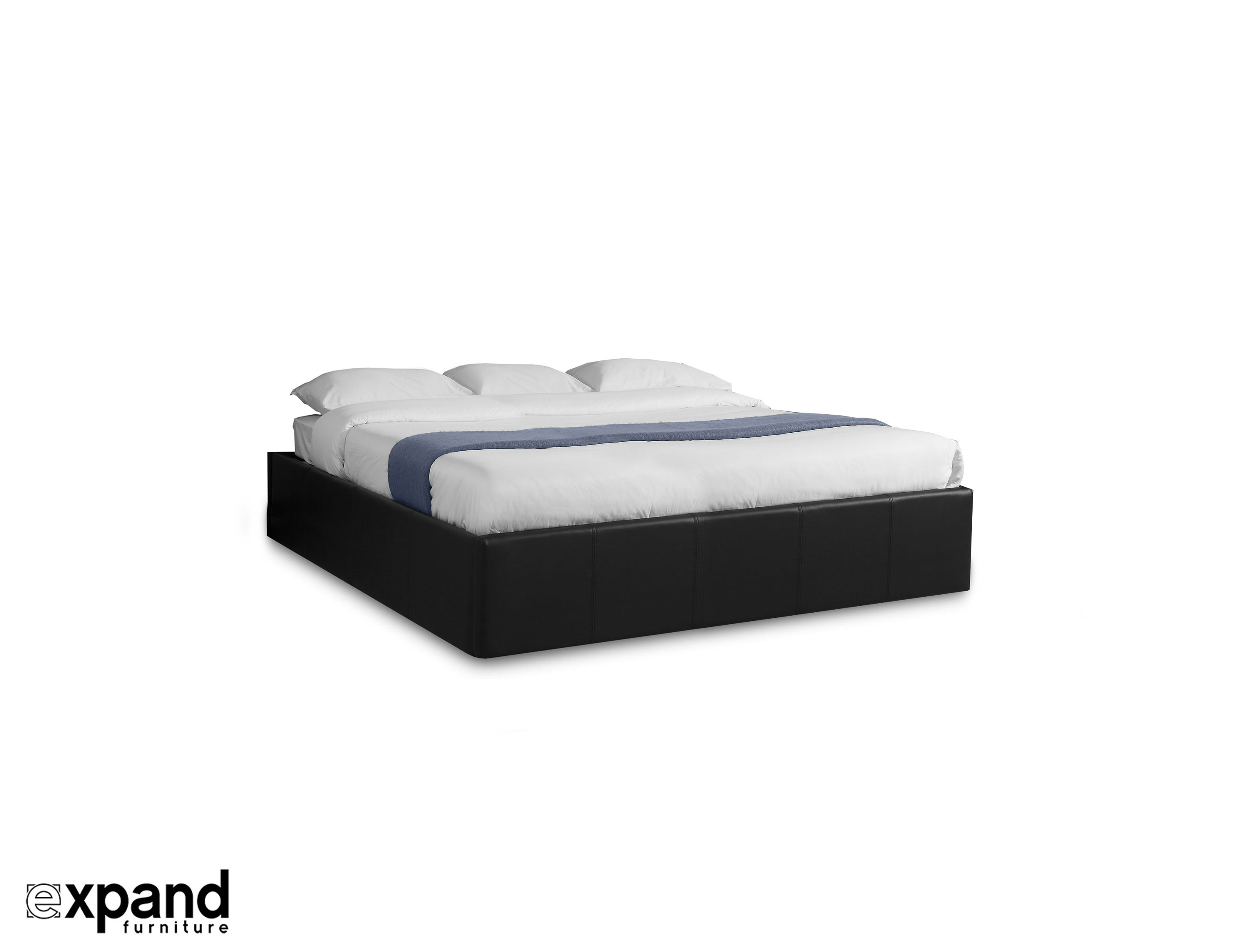 a08194f41dc6 Reveal: King - side lifting storage bed | Expand Furniture - Folding ...