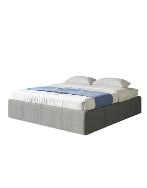 Reveal-double-full-storage-lift-bed-in-grey-with-removed-headboard