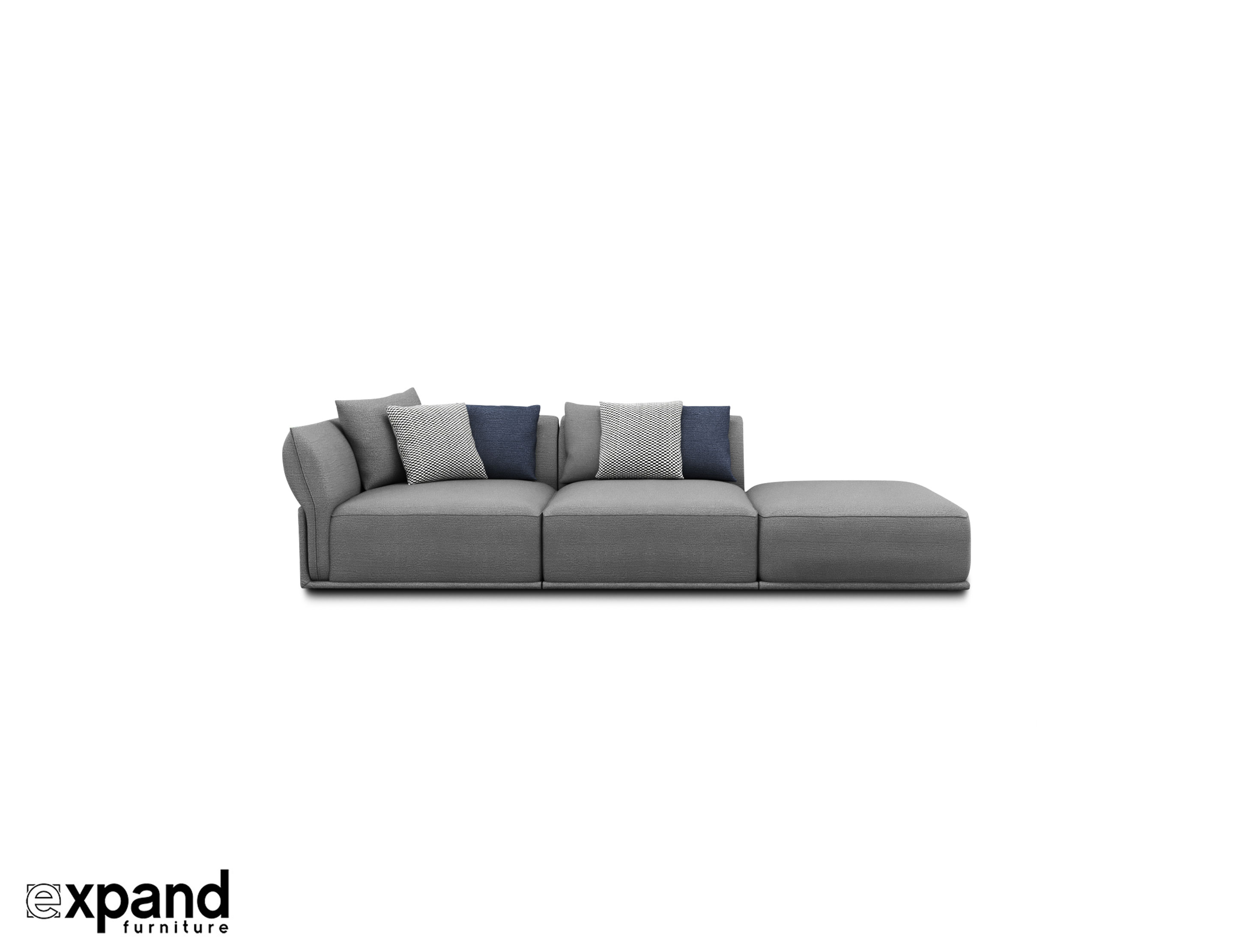 Stratus Contemporary Sofa 3 Seat