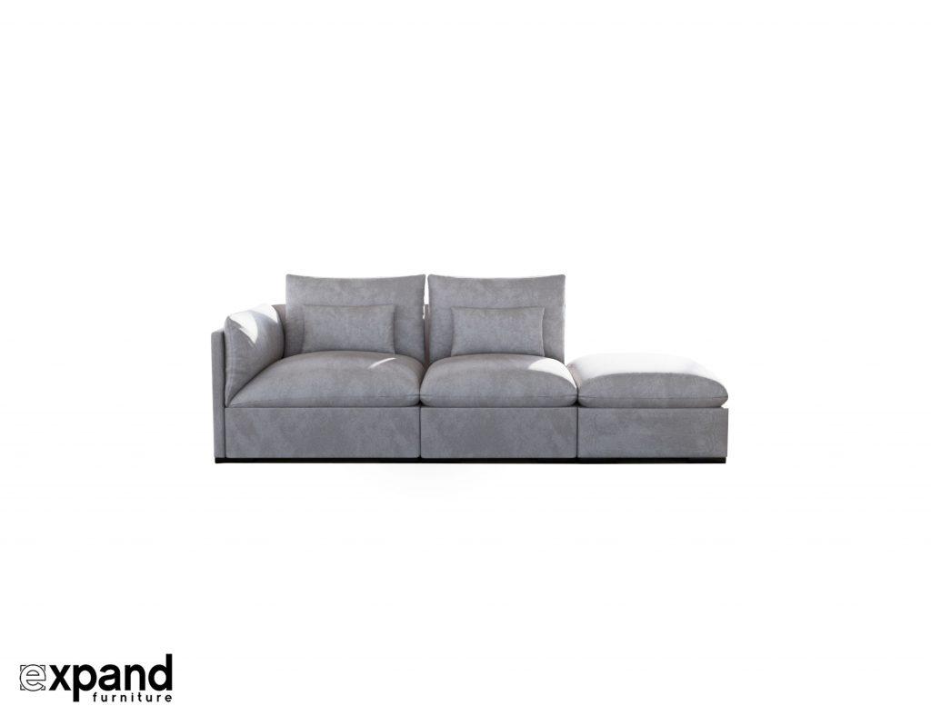 Adagio: Modern 3 seat sofa   Expand Furniture - Folding Tables ...