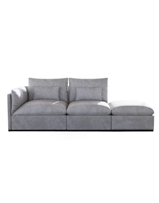 Adagio: Modern 3 seat sofa | Expand Furniture - Folding Tables ...