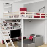 The loft system is a great way to save space