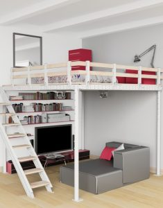 DIY Loft Bed Kit Perfect For College