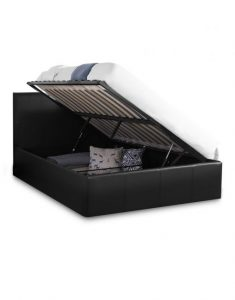 College Queen Lifting Storage Bed