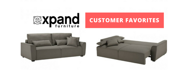 Expand Furniture customer favorites by room