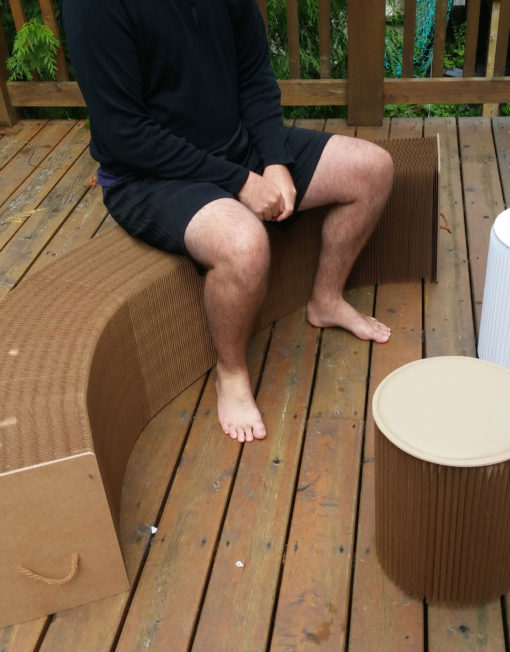 FlexYah-in-curved-flexible-paper-seating-outdoors