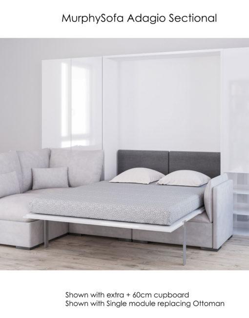 MurphySofa-Adagio-Sectional-Ultra-plush-sofa-wall-bed-opened