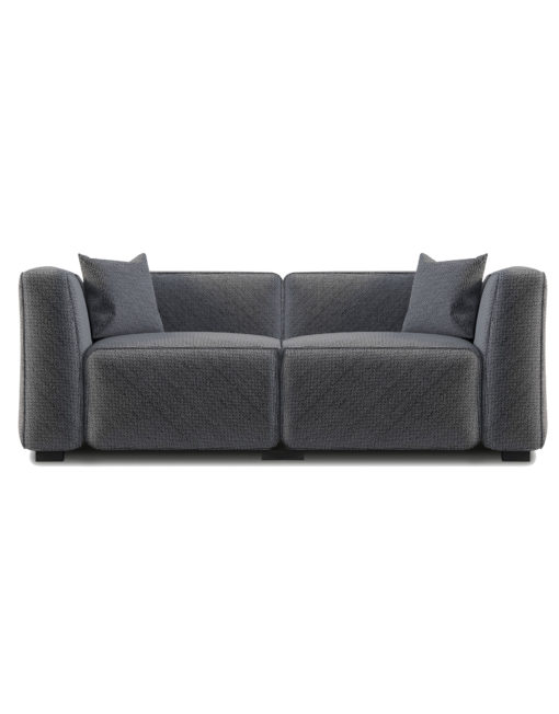 Soft Cube   Love Seat 2 Person Modular