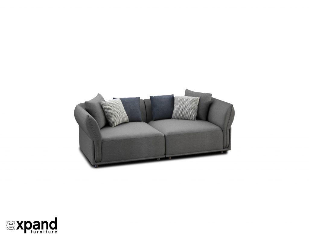 Stratus Love Seat Sofa Apartment Sized Expand