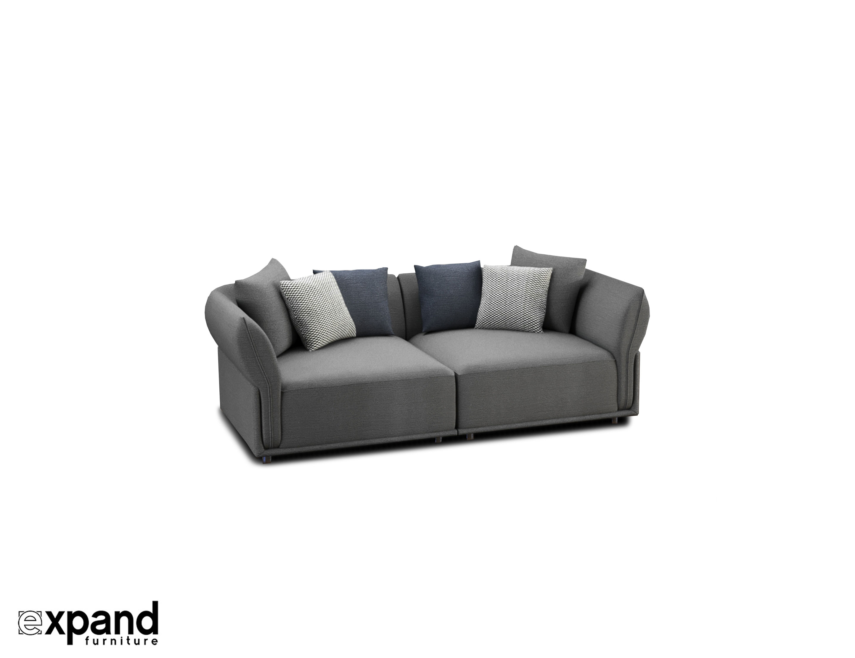 Love Seat 2 Person Sofa That Is Modular