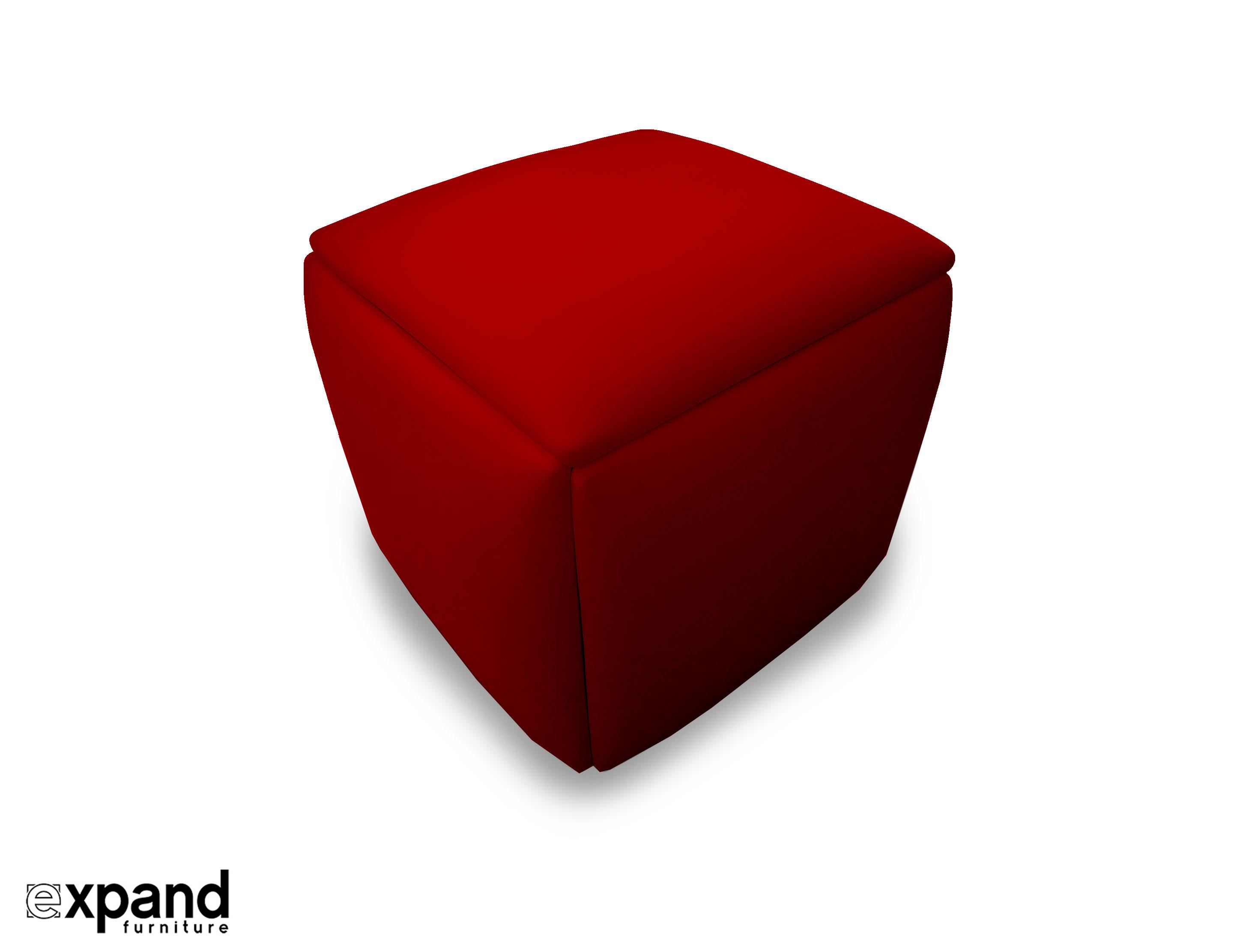 Companion Cube 5 Hidden Seats Ottoman Expand Furniture