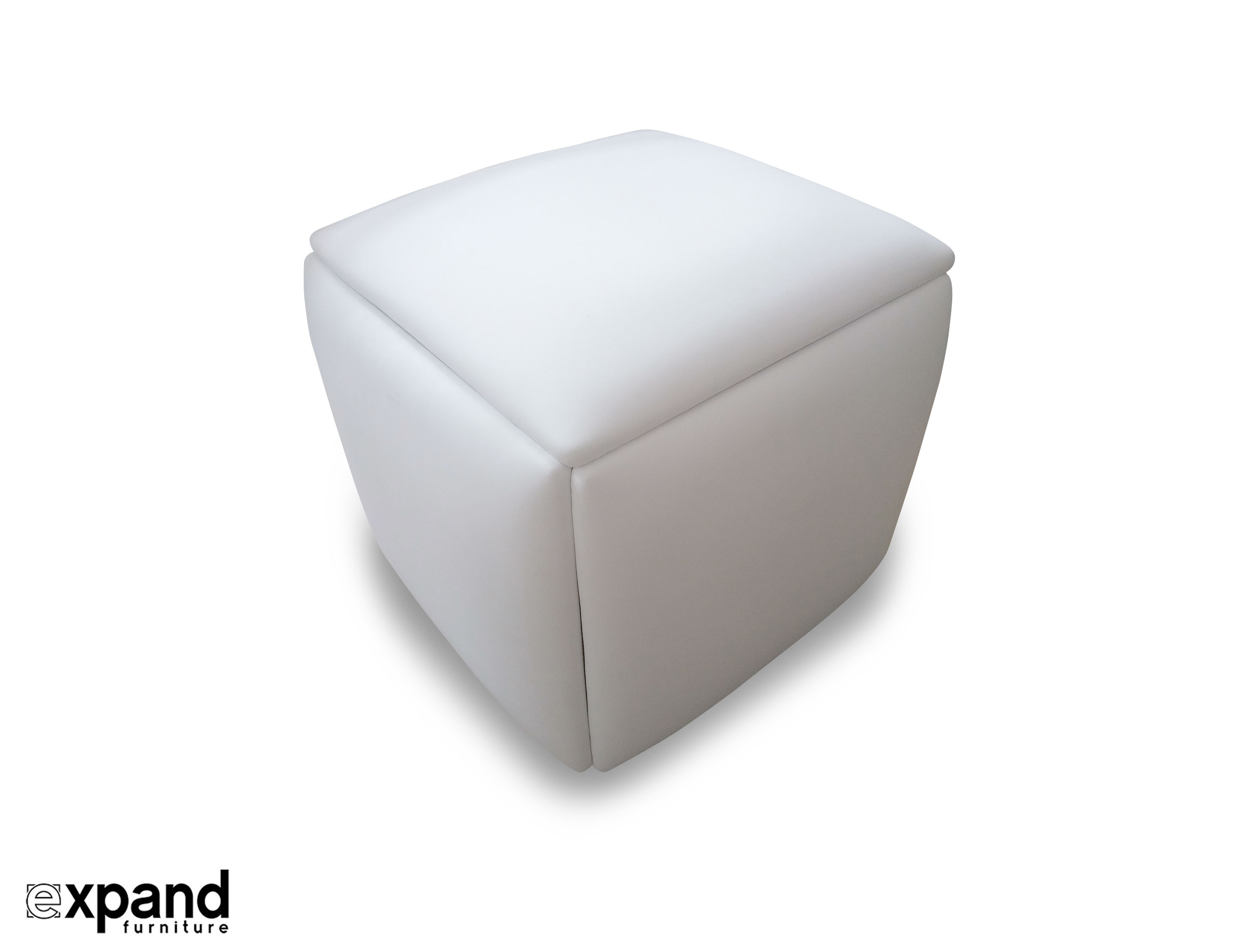 prev  sc 1 st  Expand Furniture & Companion Cube - 5 Hidden Seats Ottoman | Expand Furniture - Folding ...