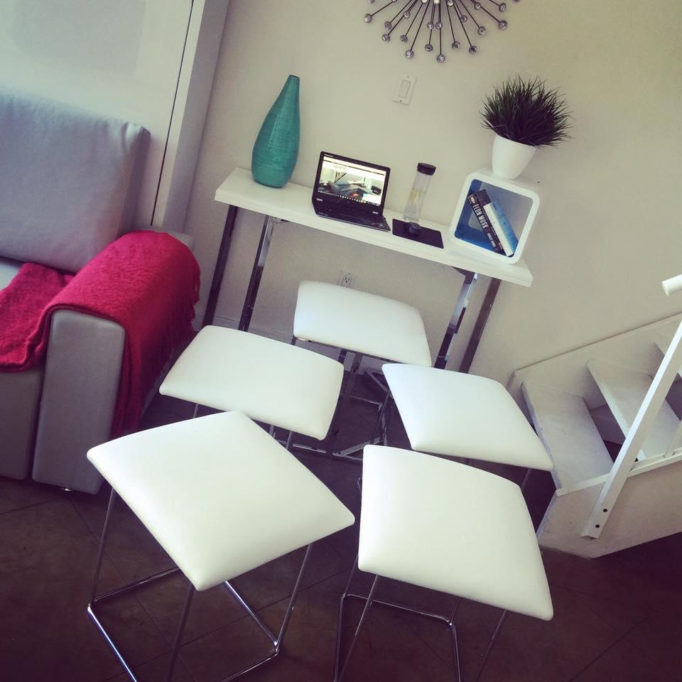 prev & Companion Cube - 5 Hidden Seats Ottoman | Expand Furniture - Folding ...