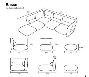 Make a verifiable lounging pit with a sectional sofa