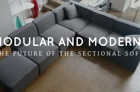 Modular and modern: The future of the sectional sofa