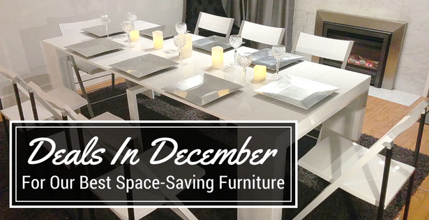 The Best Space-Saving Furniture Deals are in December