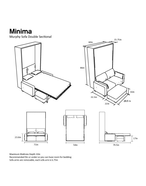 new-Dimensions-of-the-Double-sized-Murphy-Sofa-Bed-