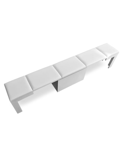 Scatola-extending-bench-5-seat