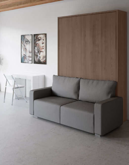 MurphySofa-Clean-with-walnut-frasin-finish-and-grey-sofa