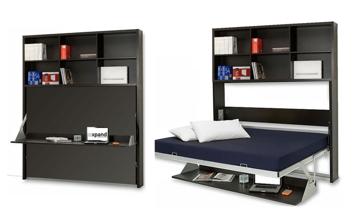 Singapore Wall bed desks with Expand Furniture
