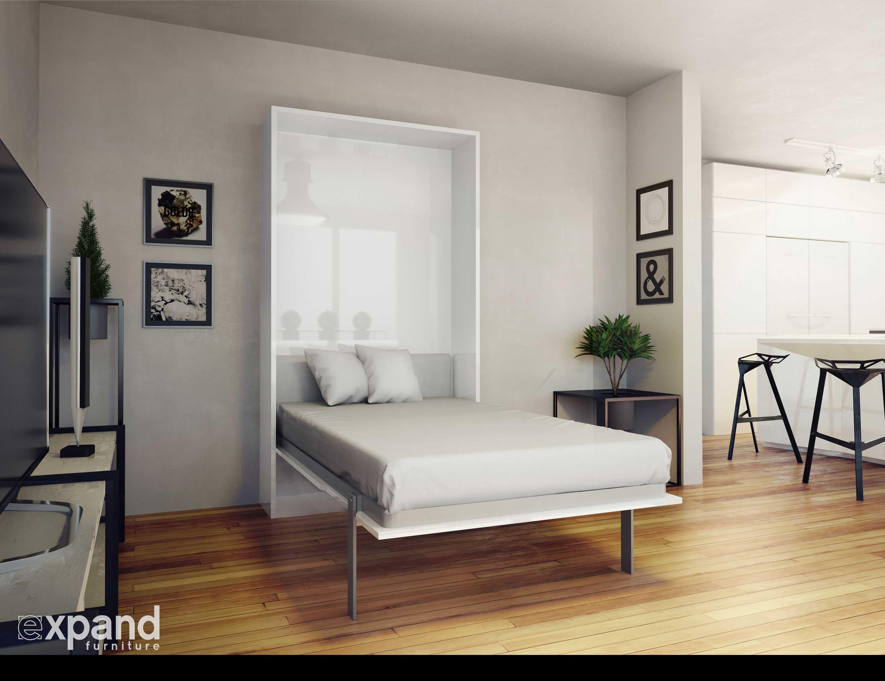 prev Hover Twin Vertical Murphy Bed