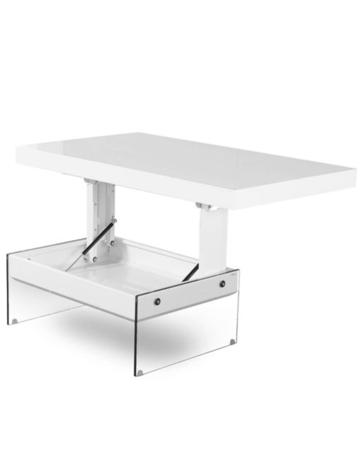 Cadence-Table-in-white-gloss-with-glass-sides